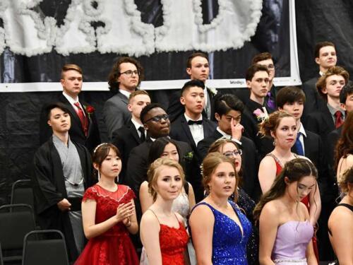 Drumheller School Graduation in Canada